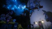 ジャパリ図書館の夜景ver3