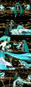 【ジュラシックポーズ】ミクラシックワールド【ポーズ配布】