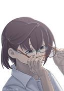 メガネをかけていることに気づかずメガネをかける沖波