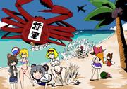 真夏の海の思い出
