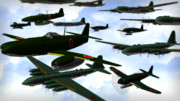 大戦末期の計画機