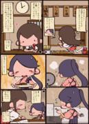 赤城さんと鳳翔さんとカツカレー
