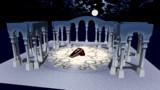 【MMD】霊廟の柱ステージ【ステージ配布】