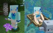 【Minecraft】ネリネ(花騎士)のスキン サンプル
