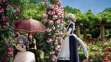 薔薇の園でお茶を