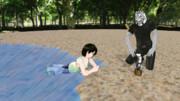 【MMD】~湖畔で休憩~【MMM】
