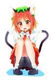お座り橙ちゃん
