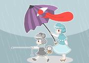 雨の日ダウジング