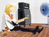 【MMD】夏と少女とテレキャスター
