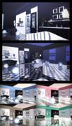 白と黒の部屋【ステージ配布】