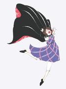 新作記念の菫子