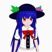 【Blender】天子ちゃん【GIF】
