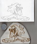 彫ってみた オカルトマニア