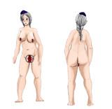 熟女型永琳(全裸)