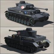 【マシンクラフト】四号戦車D型改F2 アンコウさんチーム