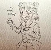 あつみちゃん誕生日おめでとう!