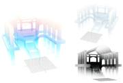 透明ホール(3色入)