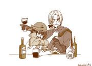 酔った勇者とツンデレクク