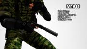 【MMD】MMD銃器紹介 No.4「M1911」