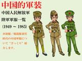 中国人民解放軍 陸軍軍服一覧 (1949~1985)