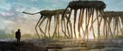 異星の巨大生物