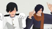 【Fate/MMD】酔っ払い帝都騎&殺のブンシャカスマイル