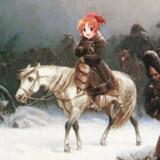 モスクワ遠征に失敗するウサミン(1812年)