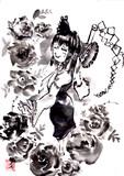 博麗霊夢と薔薇
