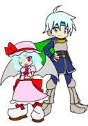 【ぷよぷよ風】ヘンタイと吸血鬼