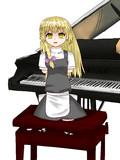 だるまりなとピアノ