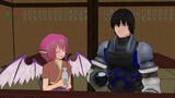 【東方MMD】心暖かな女将ミスティアと無口な板前カイムについて