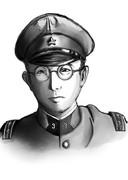 帝国陸軍歩兵第三連隊第六中隊長 安藤 輝三大尉