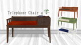 【MMDアクセサリ配布】Telephone Chair 壱