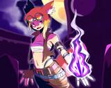 《闇の紅蓮術士/Dark Infernomancer》