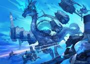 水色:藍玉龍
