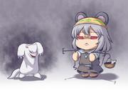 ネズミと人形