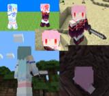 【Minecraft】琴葉姉妹スキン(Ver1.8以降用)【VOICEROID】