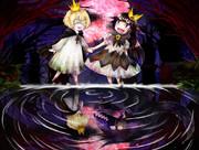 (支援イラスト)嘘つき姫と盲目王子