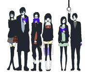 【オリジナルキャラ】 6人 【男女】