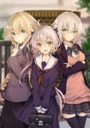 制服ジャンヌ三姉妹