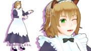 【衣装配布】ベルギー幽霊メイド衣装