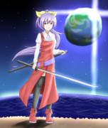 神霊の依り憑く月の姫