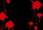 背景素材「血しぶき1」