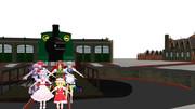 紅魔館の鉄道開業しました。