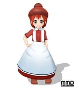 【MMD】赤芽球ちゃん