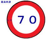 最高速度Lv70