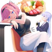 海鮮丼食べたいももちゃん