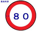 最高速度Lv80