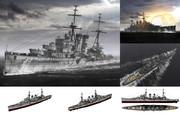 MMD用モブ重巡洋艦1940(モブゼター)セット