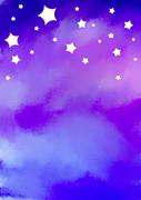 背景素材「星空4」